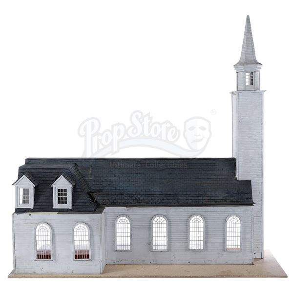 Lot # 192: MOONRISE KINGDOM (2012) - St. Jack's Church Model Miniature