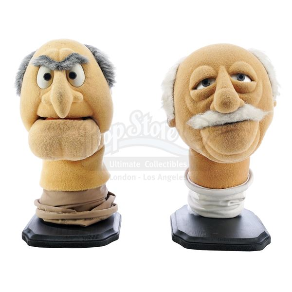 Lot # 196: THE MUPPETS FRANCHISE (1975 - PRESENT) - Statler and Waldorf Muppet Heads