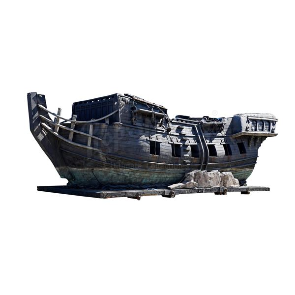 Lot # 203: PIRATES OF THE CARIBBEAN FRANCHISE (2003 - 2017) - Promotional Black Pearl Ship