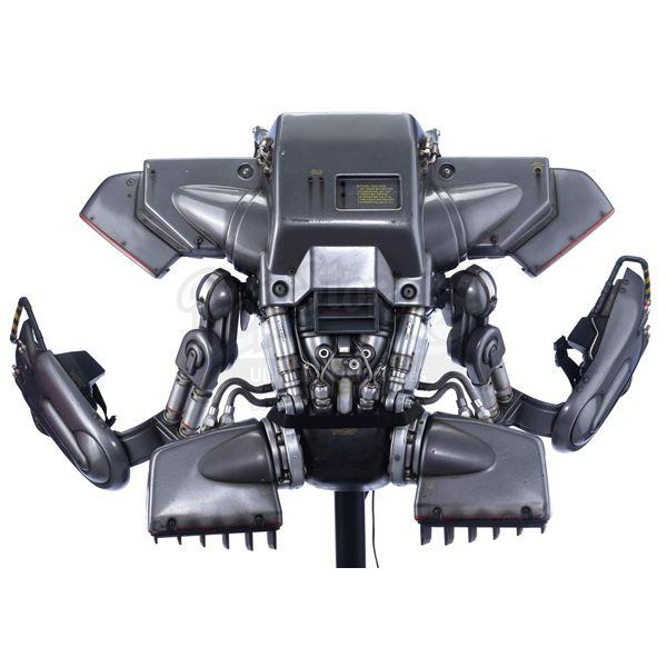 Lot # 219: ROBOCOP 3 (1993) - RoboCop's (Robert John Burke) Jetpack with Hand-Drawn Craig Hayes Alte