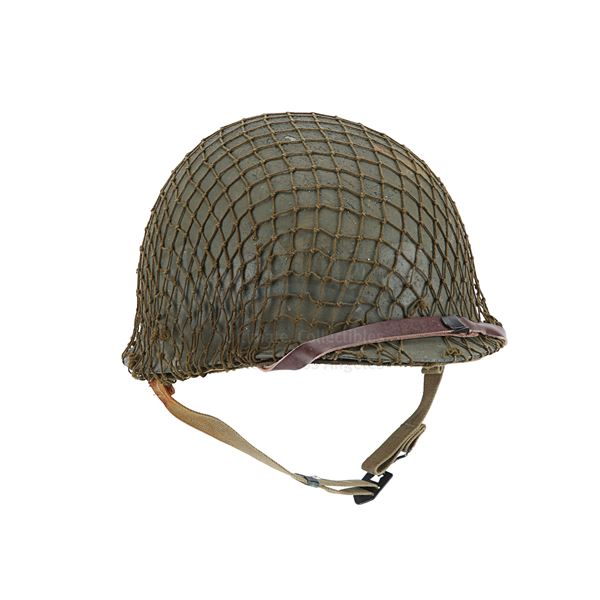 Lot # 223: SAVING PRIVATE RYAN (1998) - 2nd Ranger Battalion Helmet