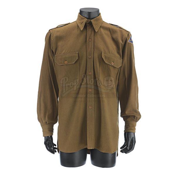 Lot # 225: SAVING PRIVATE RYAN (1998) - Captain Miller's Army Rangers Shirt