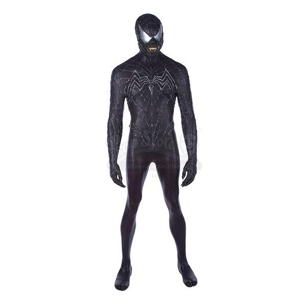 Lot # 239: SPIDER-MAN 3 (2007) - Venom (Topher Grace) Prototype Costume Display