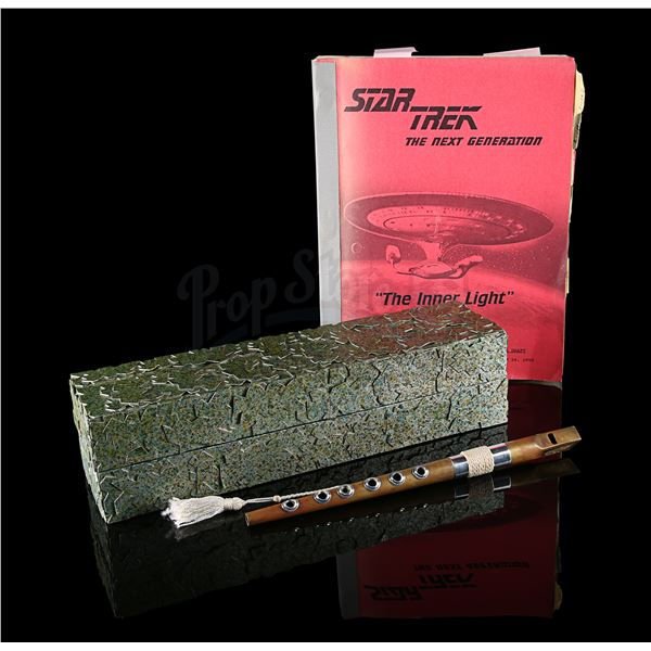 Lot # 242: Day 1 (June 29th) - Jean-Luc Picard's (Patrick Stewart) Ressikan Flute, Box and Costume C