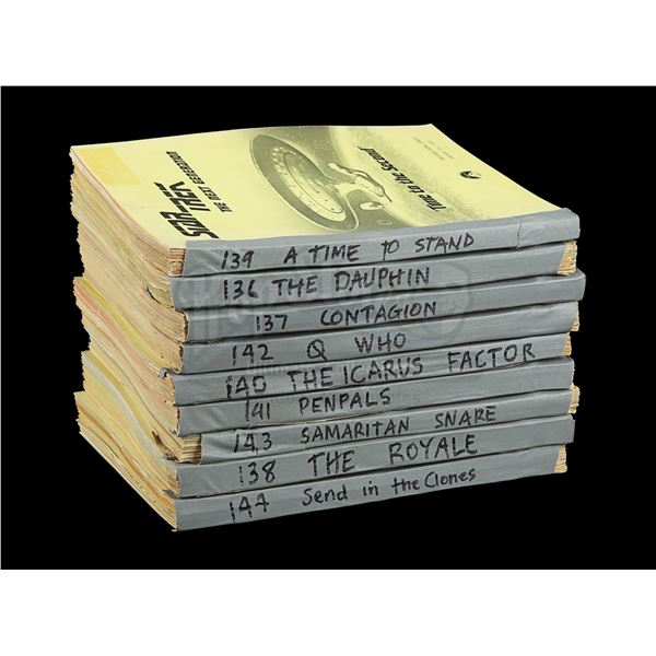 Lot # 244: STAR TREK: THE NEXT GENERATION (T.V. SERIES, 1987 - 1994) - Set of Nine Season 2 Costume