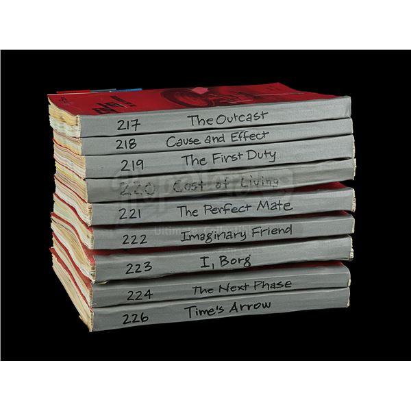 Lot # 247: STAR TREK: THE NEXT GENERATION (T.V. SERIES, 1987 - 1994) - Set of Nine Season 5 Costume