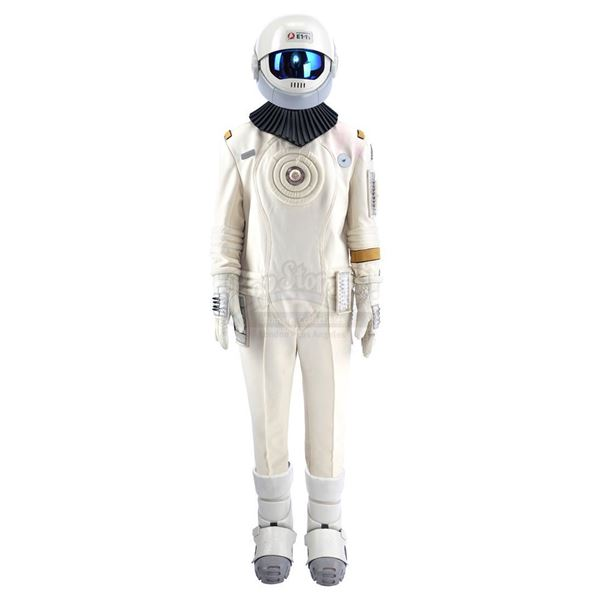 Lot # 255: STAR TREK VI: THE UNDISCOVERED COUNTRY (1991) - Samno's (Alan Marcus) Assassin EV Suit