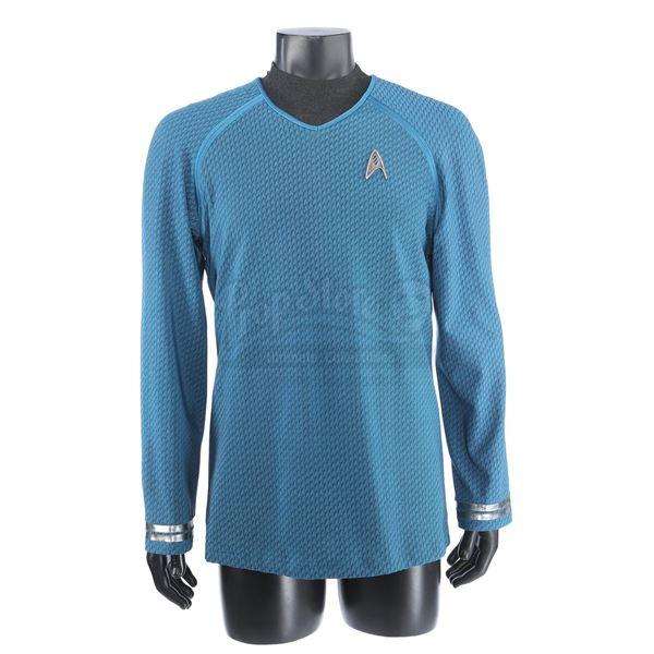 Lot # 257: STAR TREK INTO DARKNESS (2013) - Spock's Enterprise Science Tunic