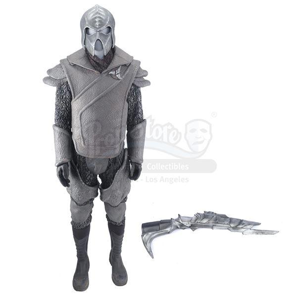 Lot # 260: STAR TREK INTO DARKNESS (2013) - Klingon Guard Uniform with Disruptor