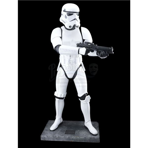 Lot # 292: STAR WARS: ORIGINAL TRILOGY - Full-Size Don Post Imperial Stormtrooper Statue