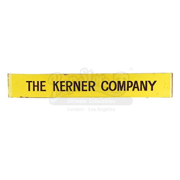 "Lot # 293: INDUSTRIAL LIGHT & MAGIC (ILM) - ""The Kerner Company"" Industrial Light & Magic Sign"