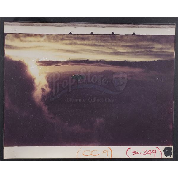 Lot # 307: STAR WARS - EP V - THE EMPIRE STRIKES BACK (1980) - Hand-Painted Cloud City Matte Concept