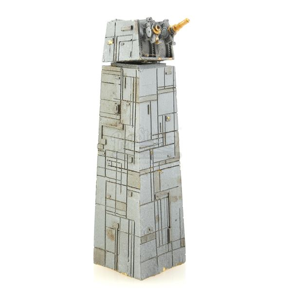 Lot # 326: STAR WARS - EP VI - RETURN OF THE JEDI (1983) - Small-Scale Death Star II Tower and Turre