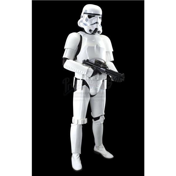 Lot # 346: STAR WARS: THE MANDALORIAN (T.V. SERIES, 2019 - PRESENT) - Remnant Stormtrooper Costume