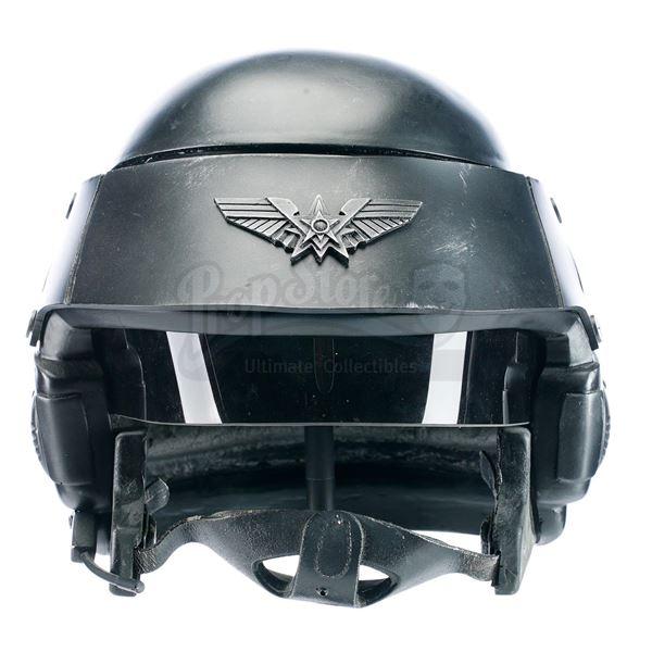 Lot # 354: STARSHIP TROOPERS (1997) - Prototype UCF Fleet M-3 Tactical Helmet