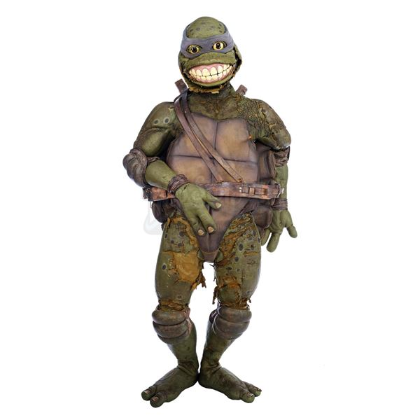 Lot # 369: TEENAGE MUTANT NINJA TURTLES III (1993) - Leonardo's (Mark Caso) Costume