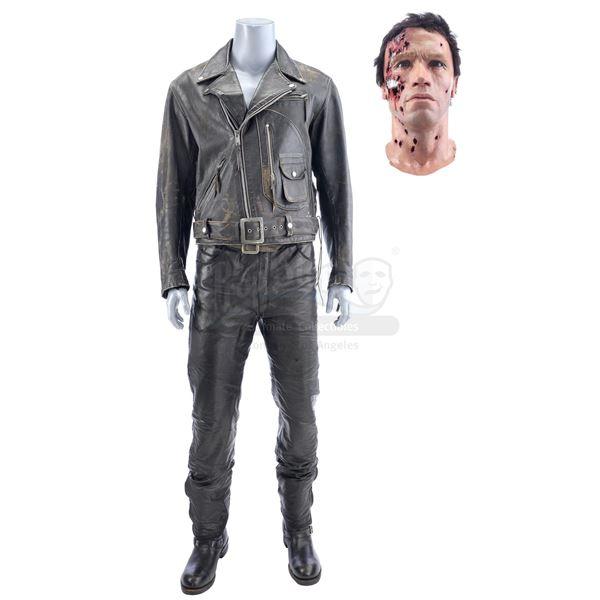 Lot # 373: TERMINATOR 2: JUDGMENT DAY (1991) - The Terminator's (Arnold Schwarzenegger) Leather Jack