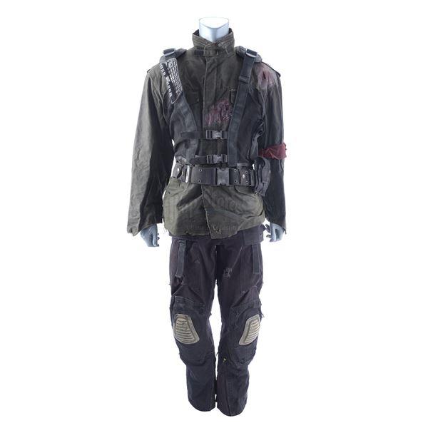 Lot # 377: TERMINATOR SALVATION (2009) - John Connor's (Christian Bale) Final Battle Costume