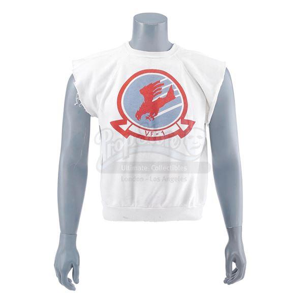 "Lot # 388: TOP GUN (1986) - Nick ""Goose"" Bradshaw's (Anthony Edwards) Cut-off Volleyball Shirt"