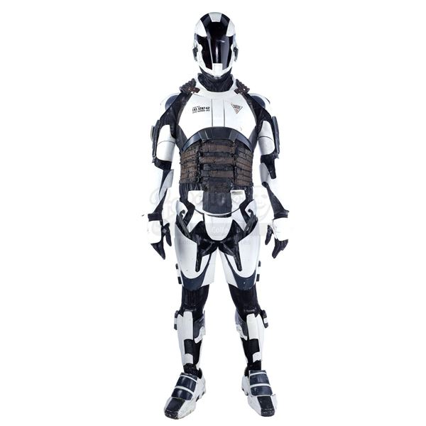 Lot # 391: TOTAL RECALL (2012) - Police Robot Costume