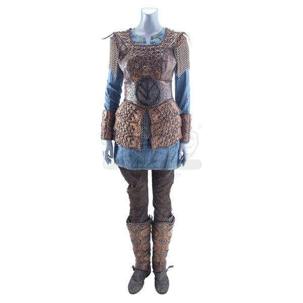 Lot # 405: VIKINGS (T.V. SERIES 2013 - 2020) - Lagertha (Katheryn Winnick) Costume