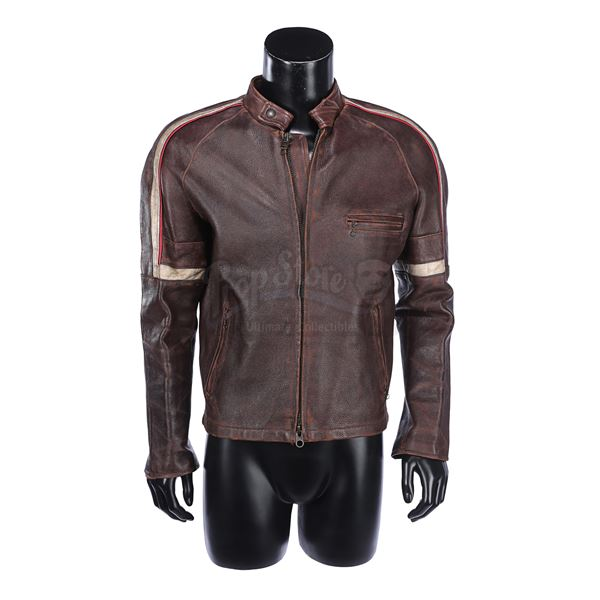 """Lot # 407: WAR OF THE WORLDS (2005) - Ray Ferrier's (Tom Cruise) """"Stage 1"""" Leather Jacket"""