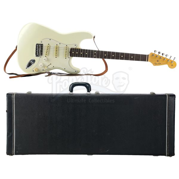 Lot # 419: WAYNE'S WORLD 2 (1993) - Wayne Campbell's (Mike Myers) White Stratocaster Guitar