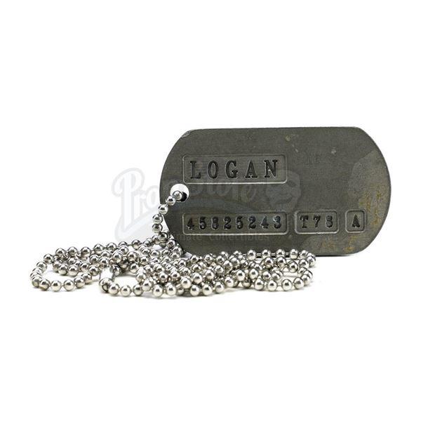 Lot # 433: X-MEN ORIGINS: WOLVERINE (2009) - Logan's (Hugh Jackman) Dog Tag