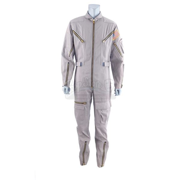 Lot # 441: 2010: THE YEAR WE MAKE CONTACT (1984) - Dr. Heywood Floyd's (Roy Scheider) Jumpsuit