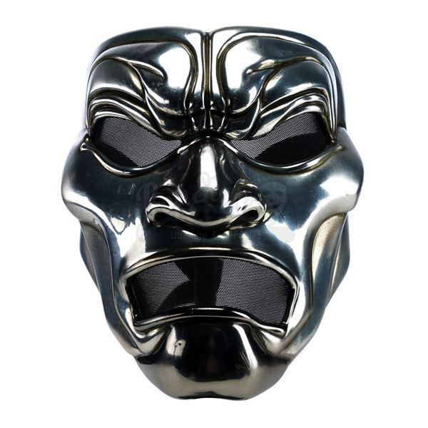 Lot # 446: 300 (2006) - Immortal Warrior Stunt Mask