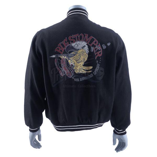 Lot # 464: ALIENS (1986) - Navy Bug Stomper Crew Jacket