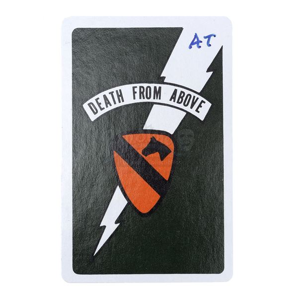 Lot # 478: APOCALYPSE NOW (1979) - Alex Tavoularis-Signed Death Card