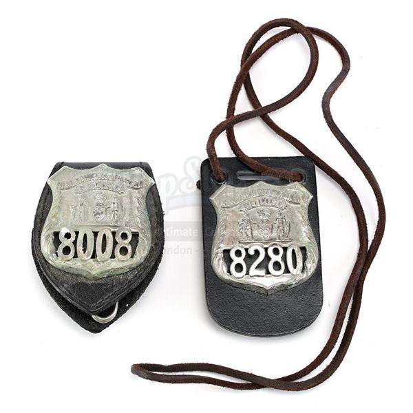 Lot # 896: MONEY TRAIN (1995) - John (Wesley Snipes) and Charlie Robinson's (Woody Harrelson) NYTP B