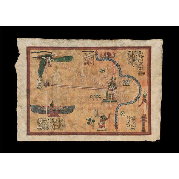 Lot # 903: MUMMY, THE (1999) - Map of Hamunaptra
