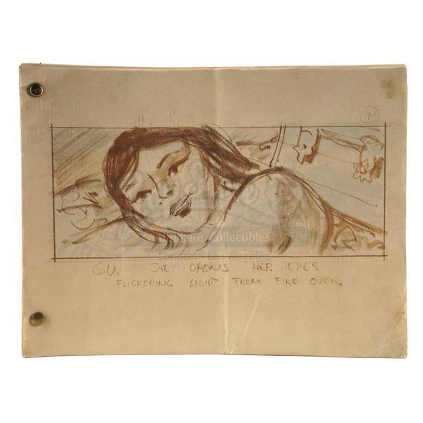 Lot # 905: MUTINY ON THE BOUNTY (1962) - 34 Hand-Drawn Storyboards