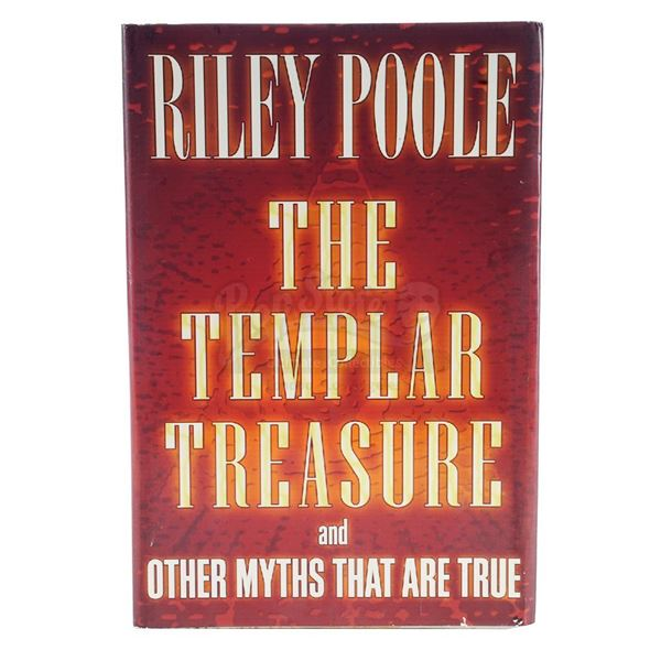 "Lot # 911: NATIONAL TREASURE: BOOK OF SECRETS (2007) - Riley Poole's (Justin Bartha) ""The Templar Tr"