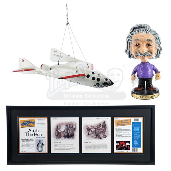 Lot # 915: NIGHT AT THE MUSEUM: BATTLE OF THE SMITHSONIAN (2009) - SpaceShipOne Model Miniature, Ein
