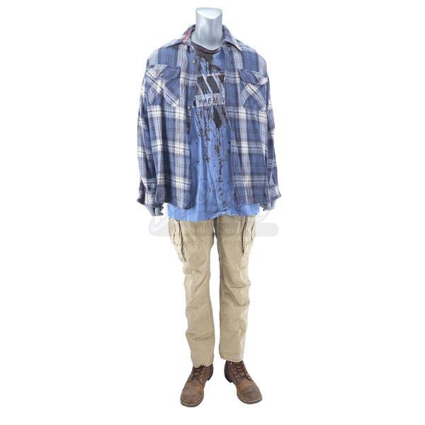 Lot # 919: NIGHTCRAWLER (2014) - Joe Loder's (Bill Paxton) Bloody Costume