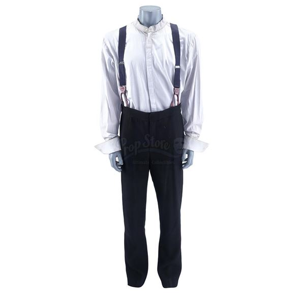 Lot # 930: NOS4A2 (T.V. SERIES, 2020) - Charlie Manx's (Zachary Quinto) Suspenders Costume