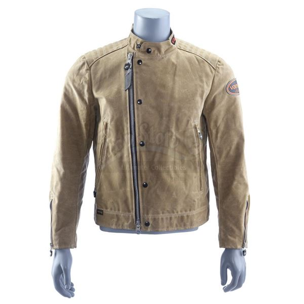 Lot # 931: NOS4A2 (T.V. SERIES, 2019 - 2020) - Chris McQueen's (Ebon Moss-Bachrach) Leather Jacket,