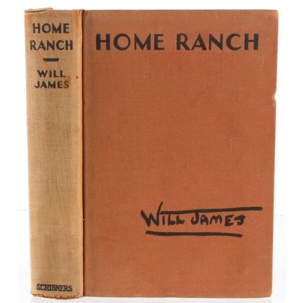 1935 1st Edition Home Ranch by Will James