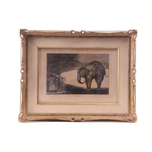 Francisco Goya (1746–1828) Otras Leyes Etching