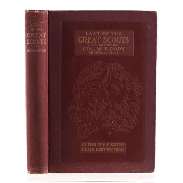 Life of the Great Scouts By Helen Cody Wetmore