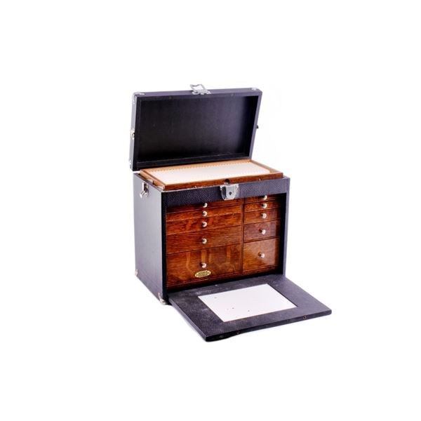 Antique H. Gerstner & Sons Dental Tool Cabinet