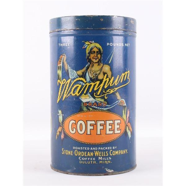 Wampum Coffee Tin