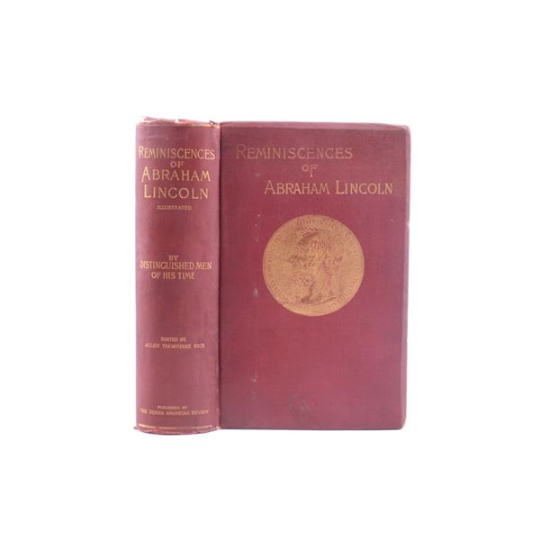 1888 Reminiscences of Abraham Lincoln by Rice
