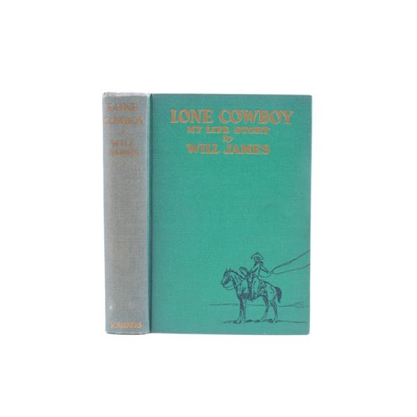 1st Edition 1930 Lone Cowboy By Will James