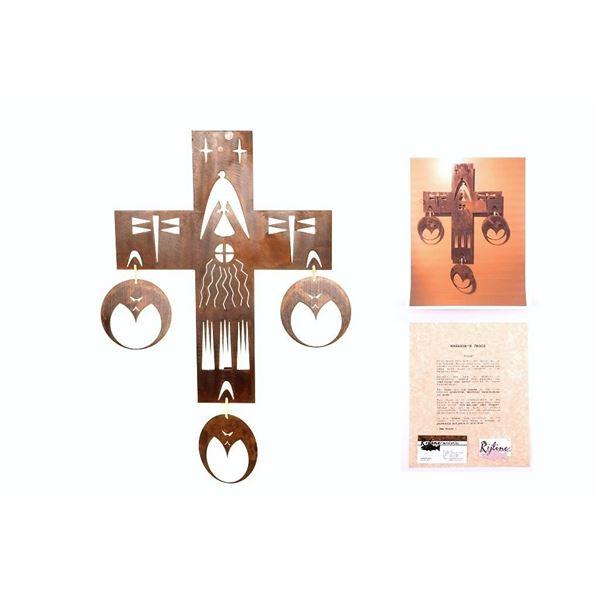 Northern Plains Eagle Warrior's Eagle Metal Cross