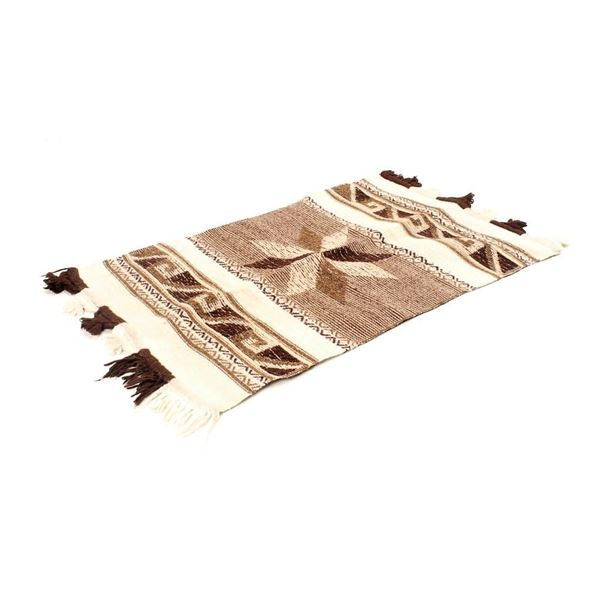 South African Ivory Coast Star Hand Woven Rug