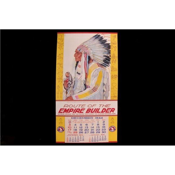 1944-1945 Great Northern Railway Calendar